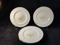 "Noritake Ireland Anticipation 2963 Salad Plate 8 3/8"" FOUR - MINT in Pottery & Glass, Pottery & China, China & Dinnerware | eBay"