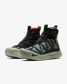 Sneakers – High Fashion For Men Sneakers Mode, Nike Sneakers, Sneakers Fashion, Fashion Shoes, High Top Sneakers, Mens Fashion, Nike Acg, Oregon, Nike Boots