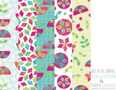 Rosie Simons Graphic and Surface Design: New Geometric Collection