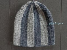 Pánská zimní pletená čepice