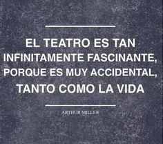 El teatro. Arthur Miller.