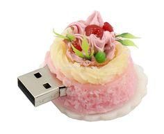 Promotional Cake Shape USB Stick Memory