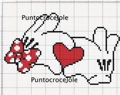 Ideas Embroidery Stitches Heart Charts For 2019 Disney Cross Stitch Patterns, Counted Cross Stitch Patterns, Cross Stitch Embroidery, Embroidery Patterns, Wedding Cross Stitch, Cross Stitch Heart, Stitch Cartoon, Plastic Canvas Patterns, Pixel Art