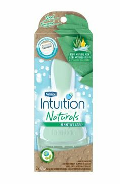 Amazon.com: Schick Intuition Naturals Sensitive Care Razor: Health & Personal Care
