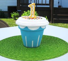 Our Little Cupcake Birthday Party Ideas Cute Cupcakes, Birthday Cupcakes, 7th Birthday, 1st Birthday Parties, Birthday Ideas, Cupcake Wars Party, Cupcake Centerpieces, Cupcake Crafts, Celebrate Good Times