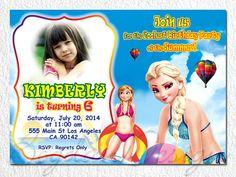 Frozen Invitation Frozen Birthday Invitation by BogdanDesign, $9.00