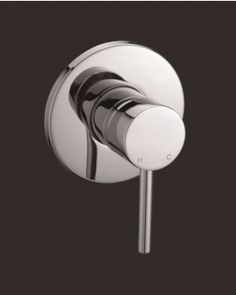 Huss round pin lever shower/bath mixer from bathwaredirect.com.au