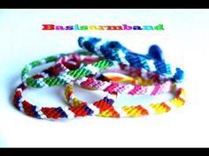 DIY Vriendschapsarmbandje/Friendships Bracelet - Basis Armband 3 Kleuren...