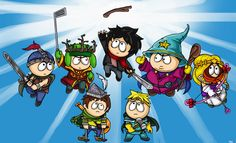 South Park The Stick Of Truth by BlazeHart96 on deviantART