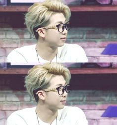 DEAR LORD NAMJOON IN GLASSES IS PERFECTION