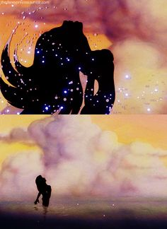 The Little Mermaid. My favorite Disney movie. Ariel is gorgeous. Something about this picture is magical