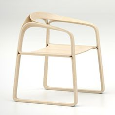 Triple plywood chair  / Timothy Schreiber