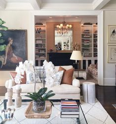 The Zhush - Interior Design by Sue De Chiara Living Room Goals, Living Room Decor, Living Rooms, Family Rooms, Light Paint Colors, New York Apartments, Home Again, Humble Abode, Home And Living