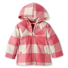 jcpenney.com | Joe Fresh™  Plaid Jacket - Girls 3m-24m