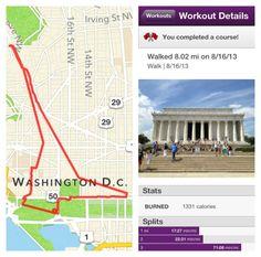 Traveling  KATE: Washington DC