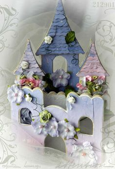 Princess Castle Gift Book