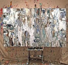 Adamcohenstudio.com  Industria, acrylic on canvas, 2016 Adam Cohen Artist