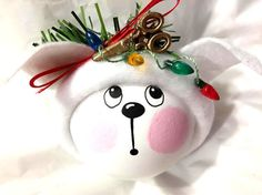 Dog Groomer Gift Christmas Ornaments White Dog Scissors String of Christmas Lights Handmade Personalized Townsend Custom Gifts - BackRoom