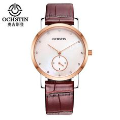 OCHSTIN Couple Leather Quartz Watches Unisex Fashion Casual Watch Women Men Simple Gift Wristwatches 017B  #love #me #men #bride #fashion #teens #fishermenlures #fishermen #accessories #iPhone7plus #gift #mensfashion #school #style #fishermennet