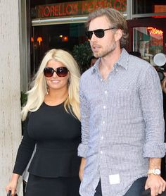 Jessica Simpson Shows Off Her Post-Baby Body While Out in NYC With Fiancé Eric Johnson Baby Jessica, Eric Johnson, Post Baby Body, Baby Blog, Celebrity Babies, My Idol, That Look, Ruffle Blouse, Nyc