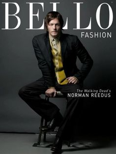 Ok, I am a HUGE Daryl Dixon fan but I always found the squirrel eating, ear wearing, and persistent dirtiness to be a turn off. However ^^^CHECK OUT NORMAN REEDUS^^^ OH YEA BABY