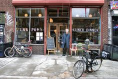 Still mourning the closing of the Pink Pony on the Lower East Side . . . where my husband and I celebrated our wedding reception in 2007.