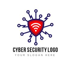 Logo for startups in Cyber Security business.The logo can be used by businesses providing virtual security, Telecom industries, data science and analysis.