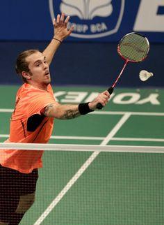 Jan O Jorgensen. BCA Indonesia Open 2014
