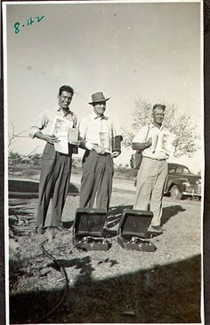 """""""1942, Middle: Grampa Douglas Haynes,  in the Ministry. (Photograph: property of Kathleen Haynes)"""""""