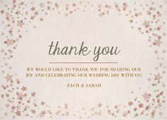 Thank You Card |  Customizable with your own details |  CatPrint Design #270