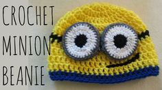How to crochet a minion beanie! You can make your minion with one eye or two! Hat fits standard adult size. If you have any requests, questions, or comments ...