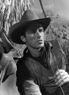 RED RIVER (1948) - Montgomery Clift as 'Matt Garth' - Produced & Directed by Howard Hawks - United Artists - Publicity Still.