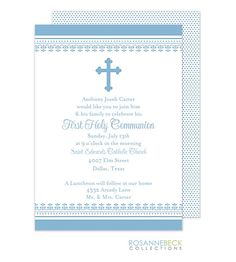 first communion party invitations praying girl pink first