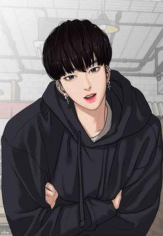True Beauty / Secret of Angel Anime Love, Anime Guys, Manga Art, Anime Art, Ideal Boyfriend, Webtoon Comics, Handsome Anime, Boy Art, Cute Faces