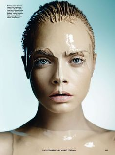 best of beauty: cara delevingne by mario testino for allure october 2014 (via Bloglovin.com )