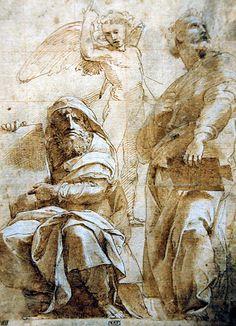 Raphael -   The Prophets Hosea and Jonah at National Art Gallery Washington DC
