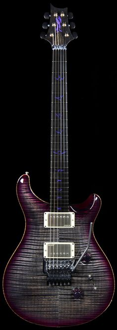 PRS Private Stock #4301 in Floyd Charcoal and Purple Burst