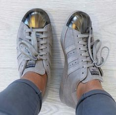 Adidas Superstar Azul Metalico