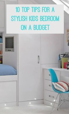 10 top tips for a stylish kids bedroom on a budget Thrifty children bedroom ideas