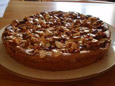 appeltaart met amandel/karamel