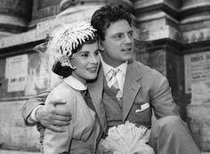 Antonella Lualdi and husband Franco Interlenghi
