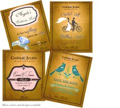 We are excited to release our Wedding Collection custom Barrel Select labels.  Wedding season is upon us, enhance your celebration and surprise your guests with personalized wine labels available on all your favorite Barrel Select wines. http://www.chateaujulien.com/custom-wine-labels  Private Reserve Labels & Custom Etching are also available.