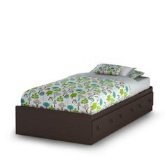 """""""Visit Walmart.ca for South Shore Summer Breeze Collection Twin Mates Bed, Chocolate and our selection of Home items at Walmart.ca """""""