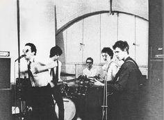 The Clash: original five piece lineup, featuring Keith Levene on guitar, 1976