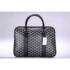 Goyard Briefcase Bags Black