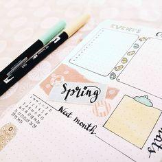 Monthly  il paraît que c'est le printemps.... En tout cas pas chez moi aujourd'hui il pleut des cooordes !  Gros plan sur les détails de ma page d'avril avec le joli papier cadeau de mon concours gagné chez @mrs.always_plan  plein de bises les bujoteuses  #spring #bulletjournal #bulletjournaljunkies #bujo #journaling #bujojunkies #bujofr #bulletjournalfr #bulletjournalcommunity #artjournaling #creativejournal #monthlyspread #stationeryaddict #tombowusa #lettering #letteringart #calligraphy…