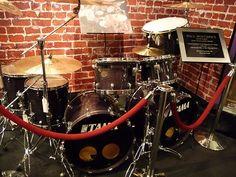 paul bostaph photos | Paul Bostaph drum (ex Slayer)