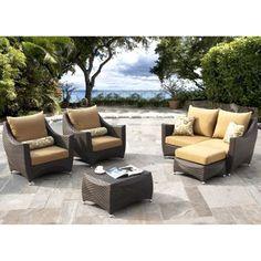 Futura 5-piece Patio Deep Seating Set by Sirio™