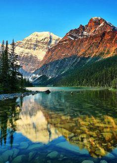 Jasper National Park, Alberta, Canada - Le parc national de Jasper est le plus grand des parcs nationaux canadiens, dans les Montagnes Rocheuses.