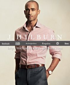 Casual doesn't have to be frumpy.  Look cool, and comfortable with a custom tailored shirt and made to measure trousers. Complete the look with an exotic belt!  http://michaeledwards.jhilburn.com